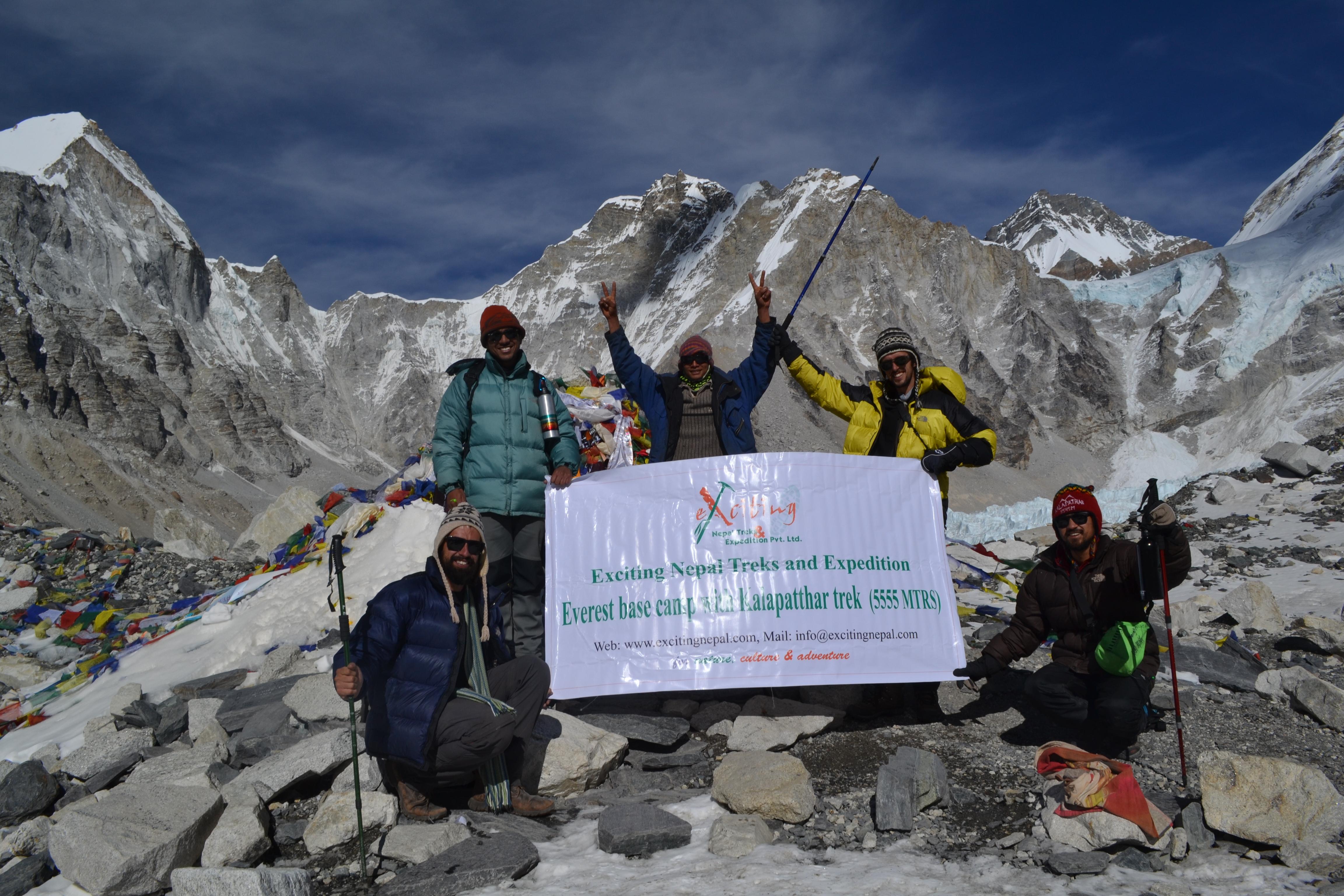 Starting Everest Base camp trek