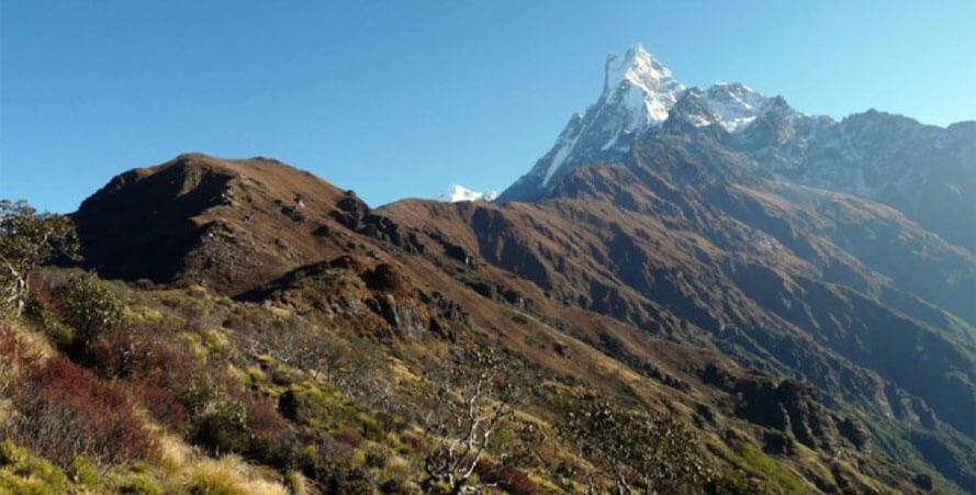 Mardi Himal Peak Climbing 5 days trek in Nepal
