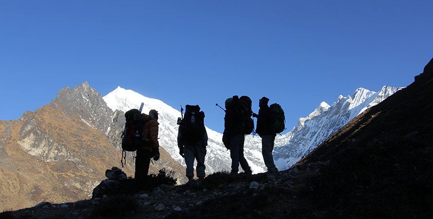 Guide and Porters