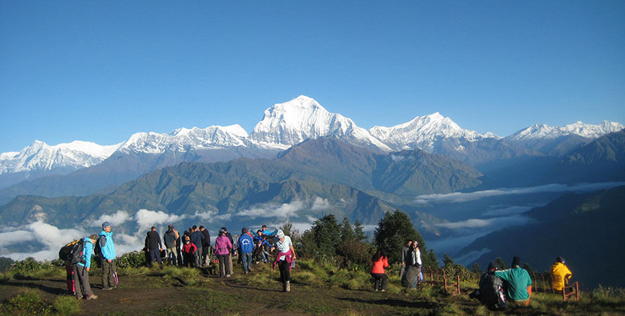 Ghorepani to Poon Hill to Tadapani