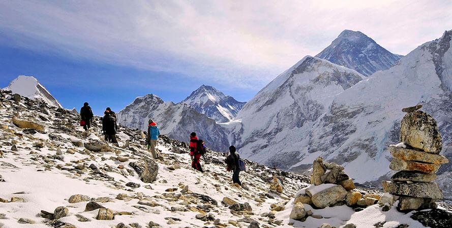 everest three pass trekking