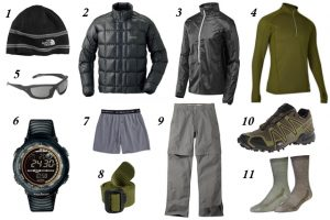 clothing for Trek