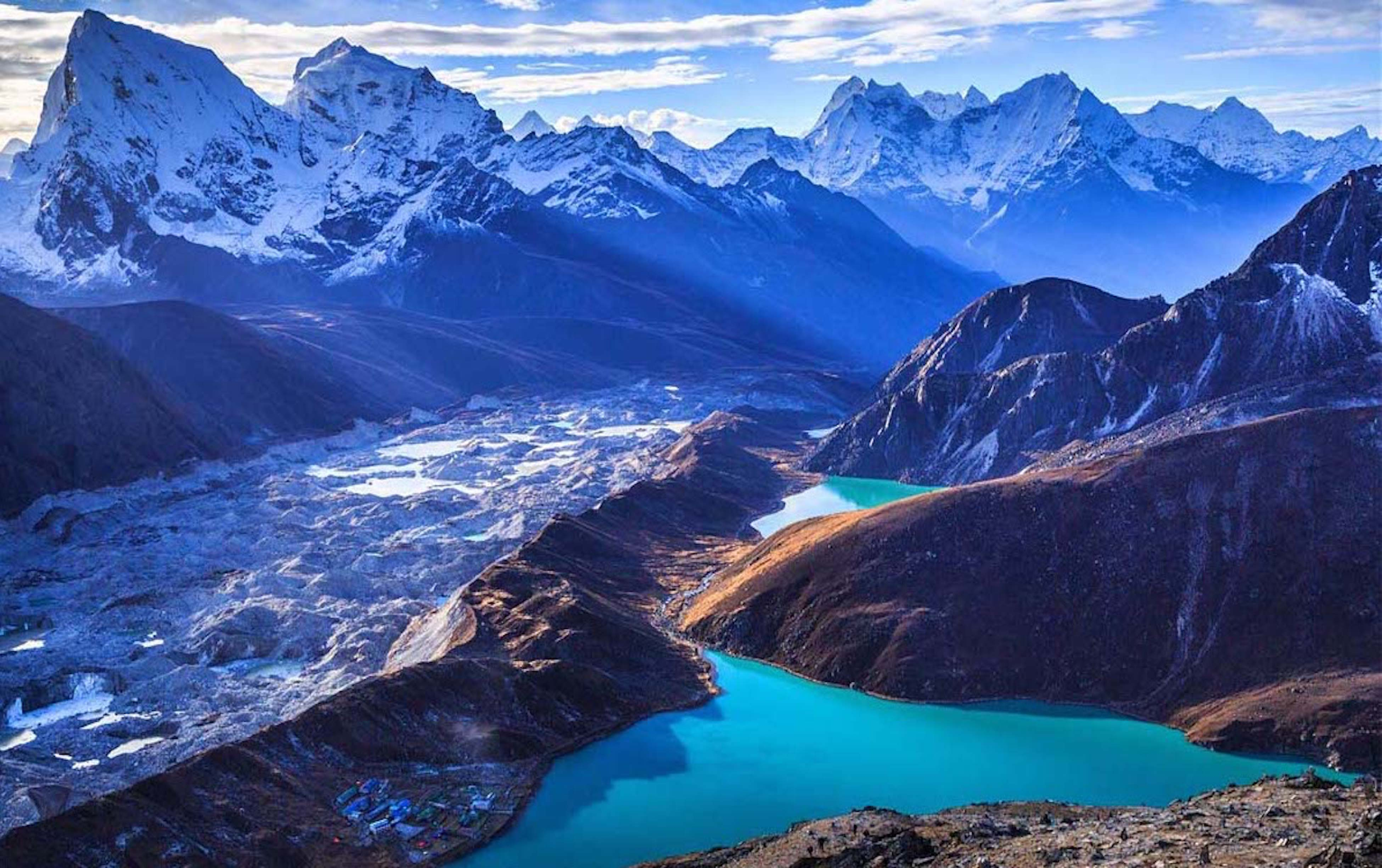 Everest base camp Cho-la pass trek.