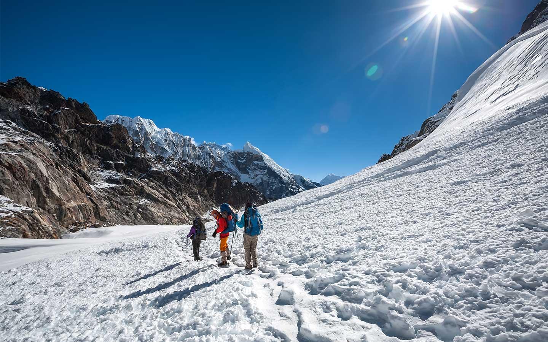 high pass trek in nepal