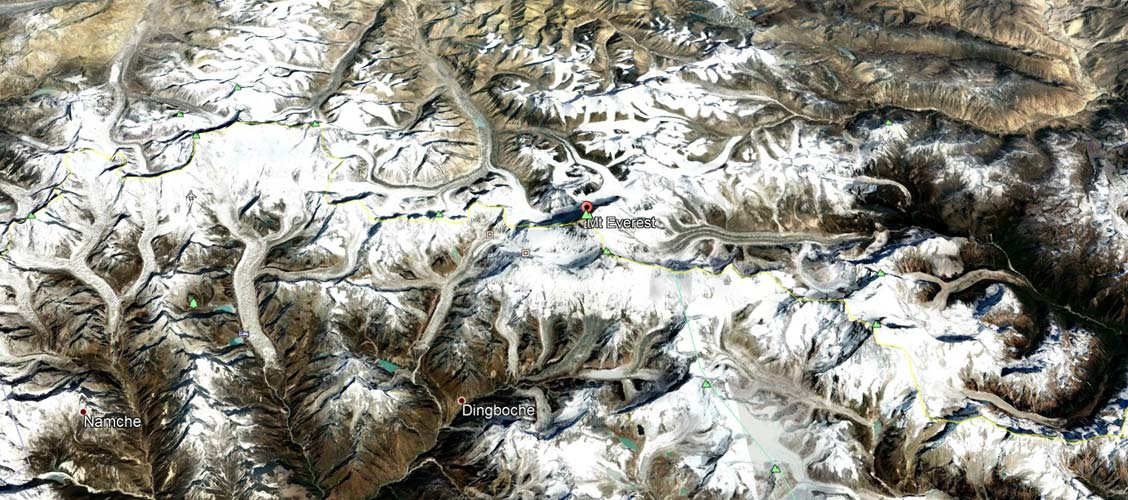 mt everest location