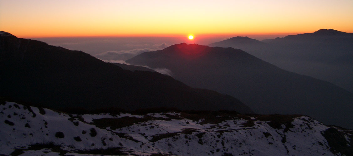 Langtang Trek is March April May