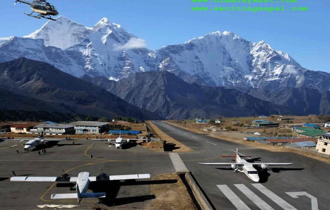 Kathmandu to Lukla Helicopter | Lukla to Kathmandu