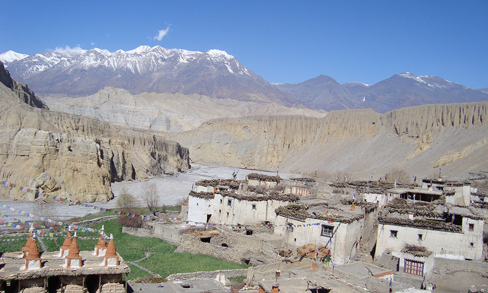 10 Days upper mustang trek