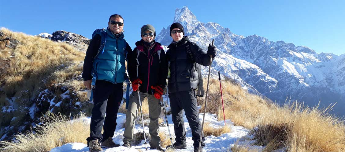 Mardi Himal Trek january