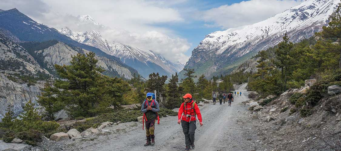 Short Annapurna Circuit Trek 10 Days