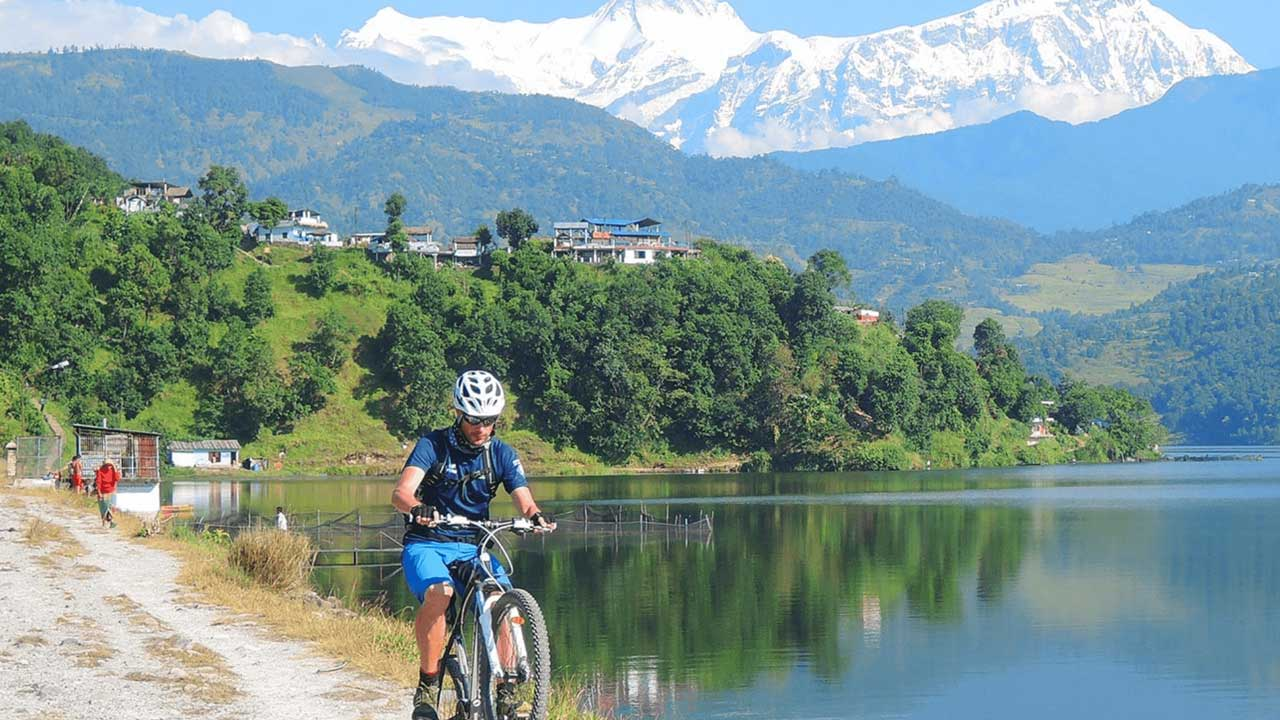 Fewa and Begnas Lake Mountain Biking Tour