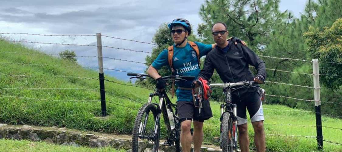 Kathmandu Valley Mountain biking Tour