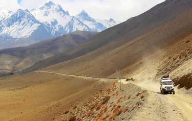 Upper mustang jeep tour, road trip