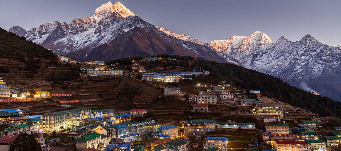namche way to everest base camp