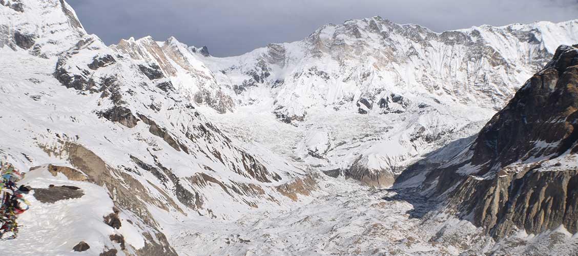 Trekking in Nepal in February