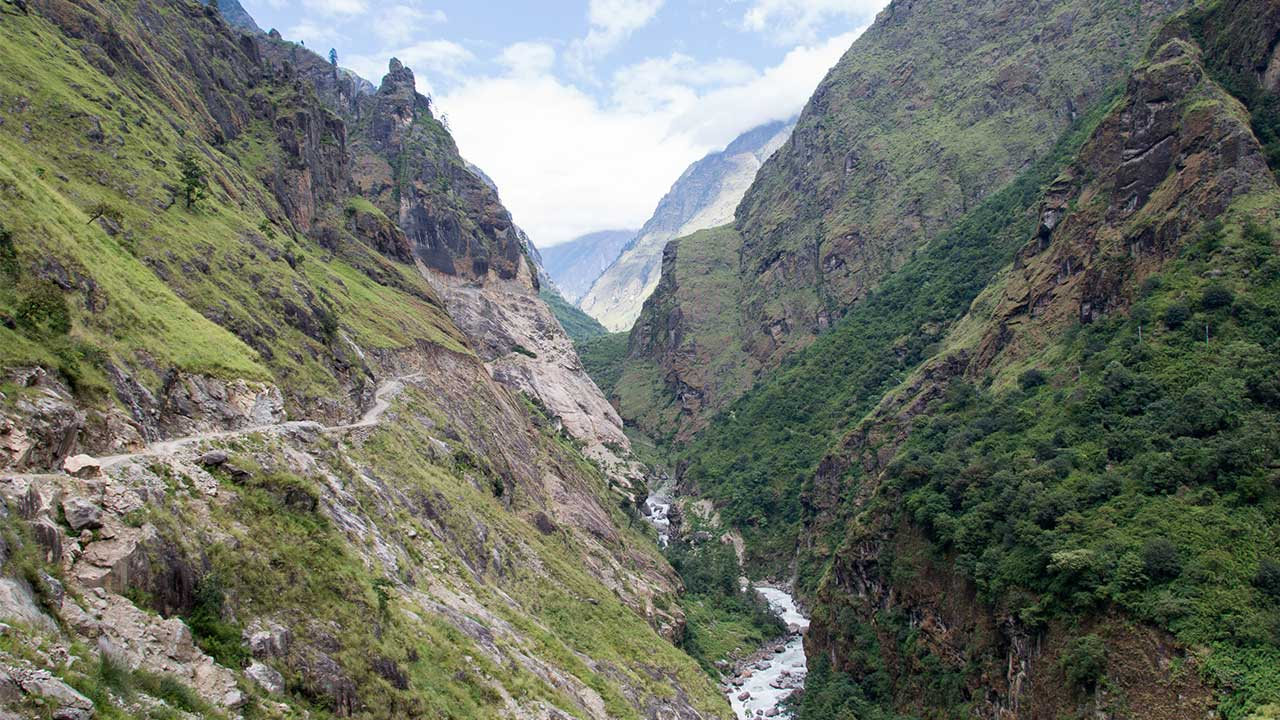 Annapurna Circuit Trek in June, July, and August