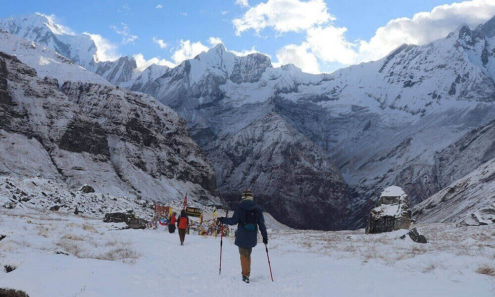 Annapurna Circuit Trek in January and February