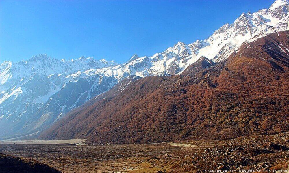 5 days langtang valley trek