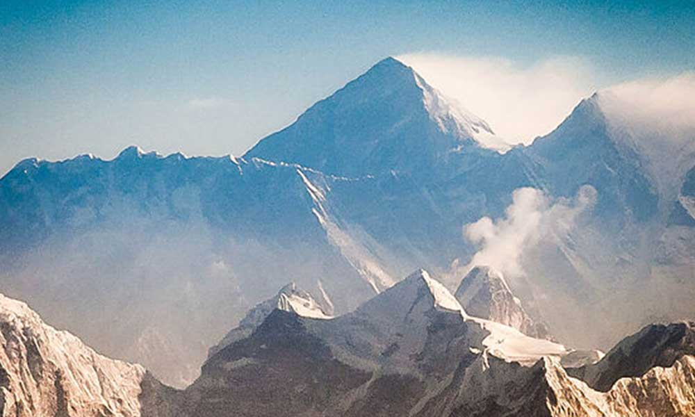 How low can the temperature get in Mt. Everest?