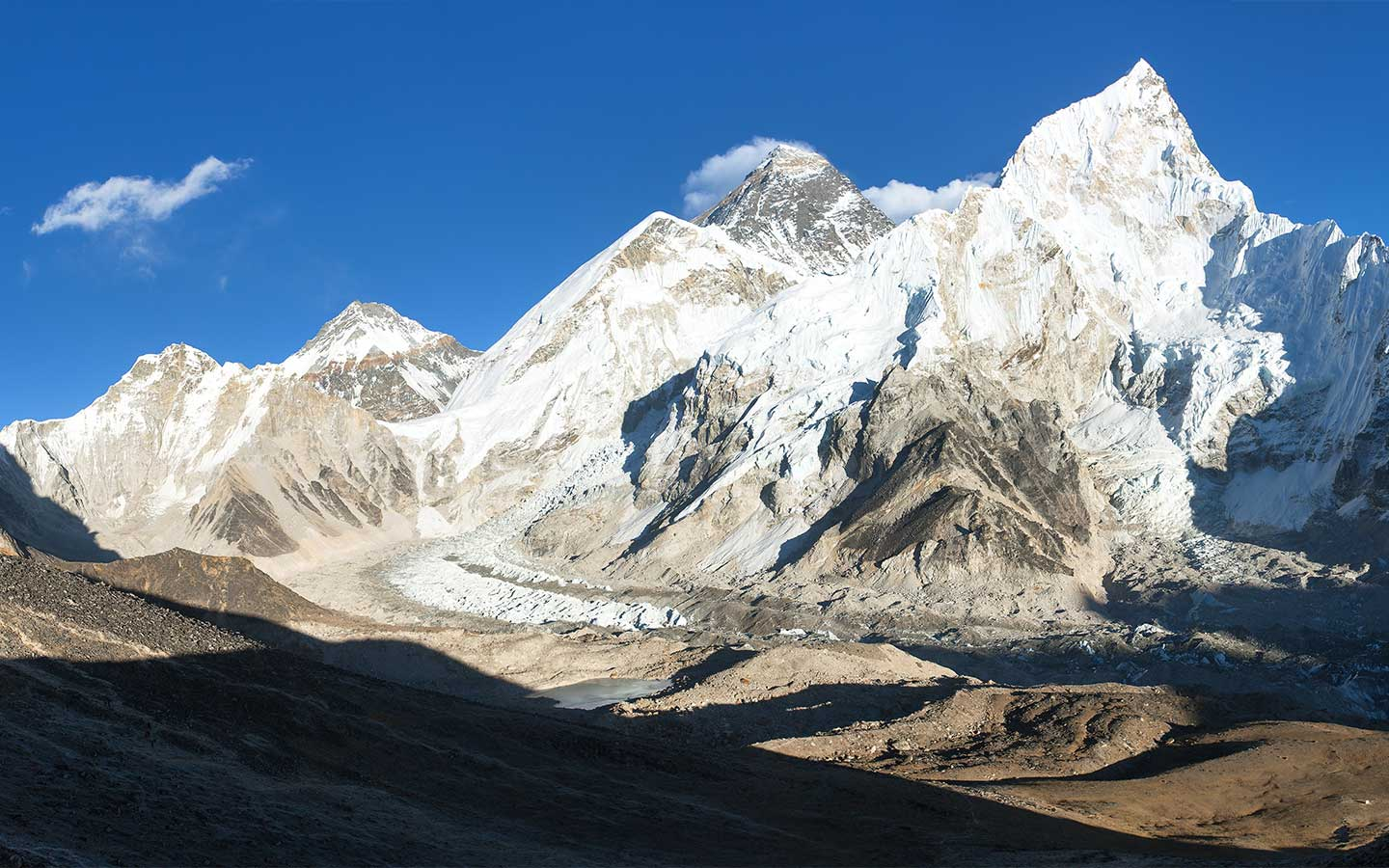 Distance From Base Camp To Everest Summit