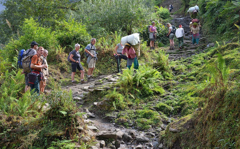 trekking in nepal for beginners